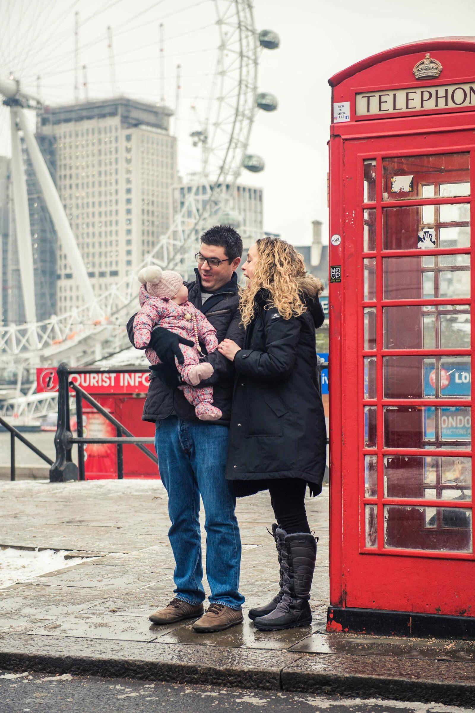 London Vacation Photo Shoot